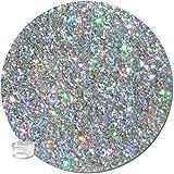 Glitter My World! Fine Glitter Cosmetic Holographic: Star Struck Silver Bitty Jar