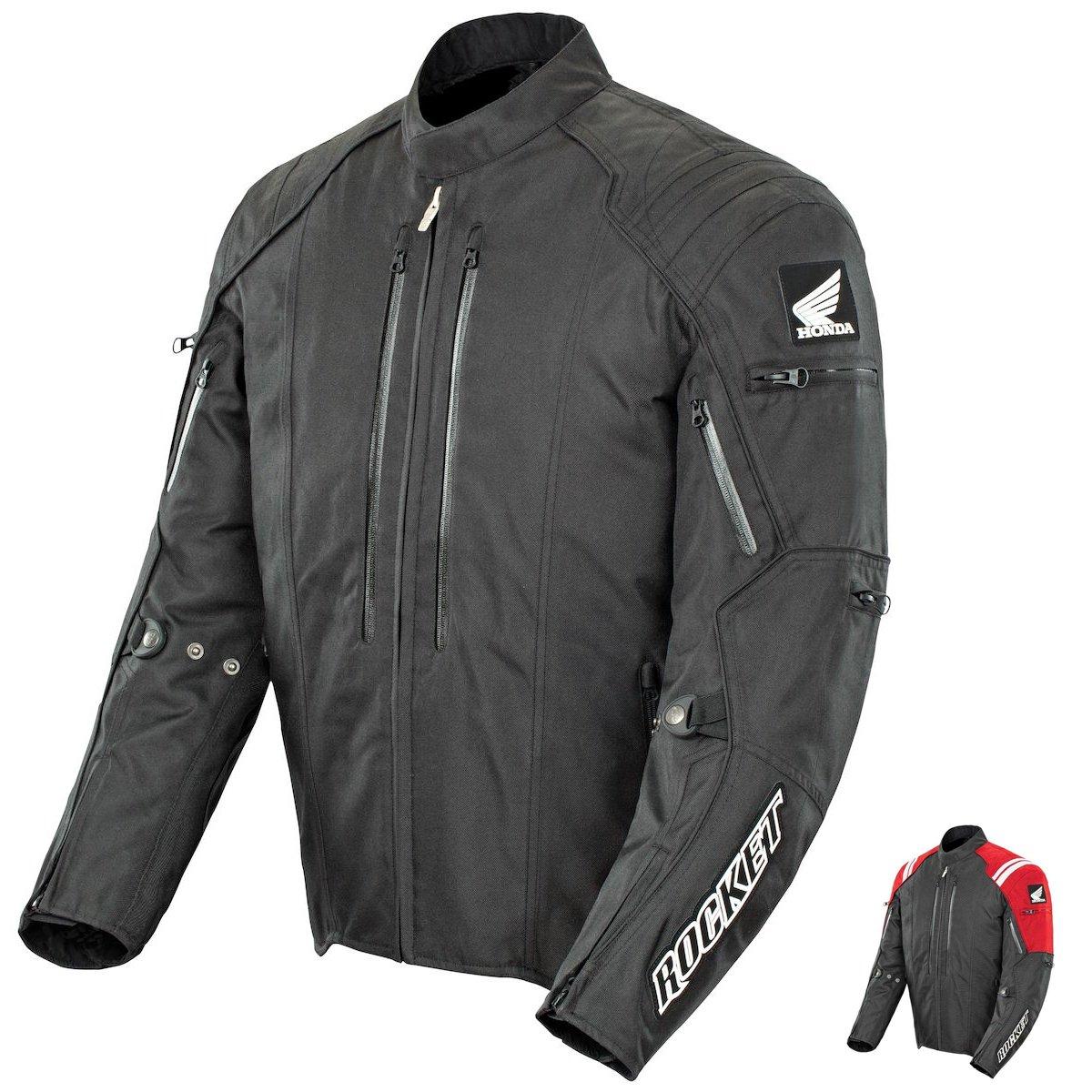 Amazon.com: Joe Rocket Honda CBR Men's Textile Street Racing Motorcycle  Jacket - Black/Black / 2X-Large: Automotive