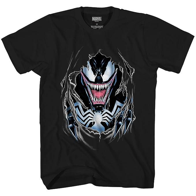 Amazon.com: Venom Vengadores de aerógrafo Ripped Villain ...