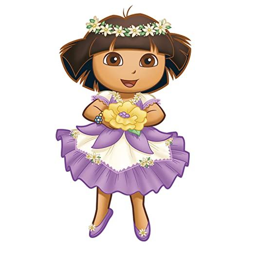 RoomMates Repositionable Childrens Wall Stickers Dora The Exploreru0027s  Enchanted Forest Giant Part 67