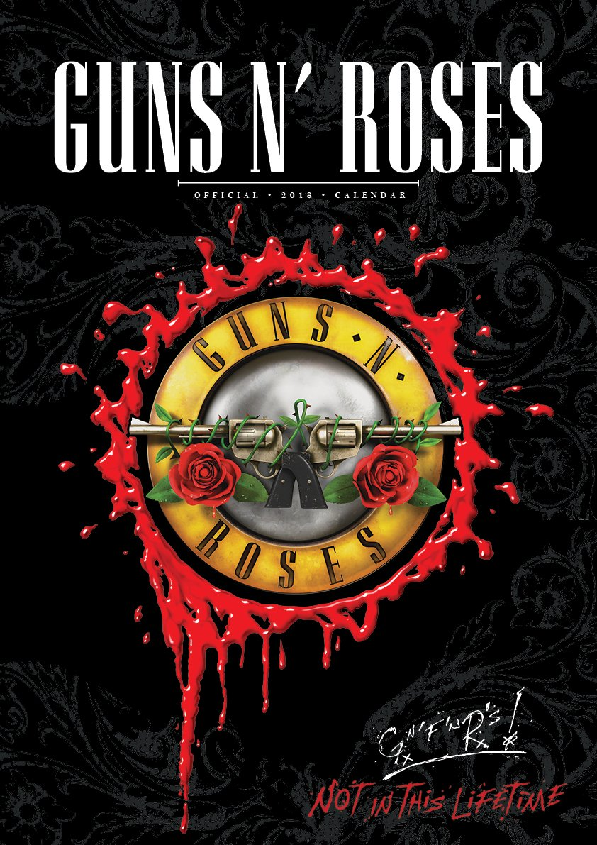 Guns N Roses Official 2018 Calendar - A3 Poster Format: Amazon.es ...
