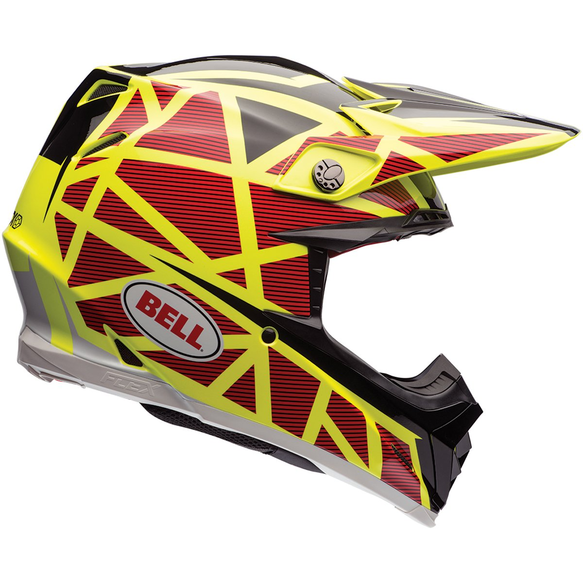 Amazon.com: Bell Moto-9 Flex Tagger Rekluse Motocross Helmet - 2X-Large: Automotive