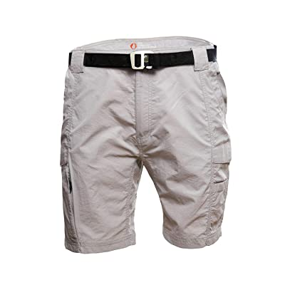 American Outdoorsman Mens Cargo Shorts with Beer Opener Hiking Belt Ideal for Trail Hiking Outdoor Activity: Clothing