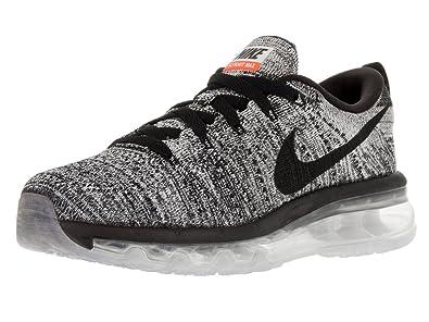 Nike Womens Flyknit Max White/Black Running Shoe 6.5 Women US
