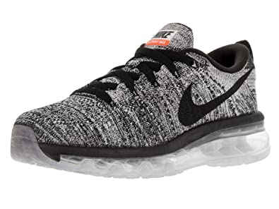 Nike Womens Flyknit Max White Black Running Shoe 9 Women US b8401e5ec3