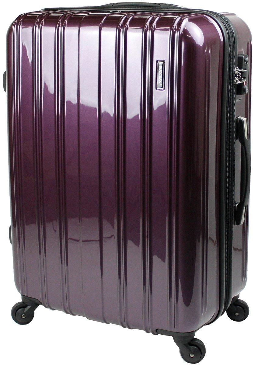 【新品アウトレット商品】 【SUCCESS サクセス】 スーツケース 3サイズ( 大型  ジャスト型  中型 ) TSAロック 搭載 超軽量 レグノライト2020~ ミラー加工 キャリーバッグ … B07BSBQ1PT 大型 Lサイズ 76cm|パープル パープル 大型 Lサイズ 76cm