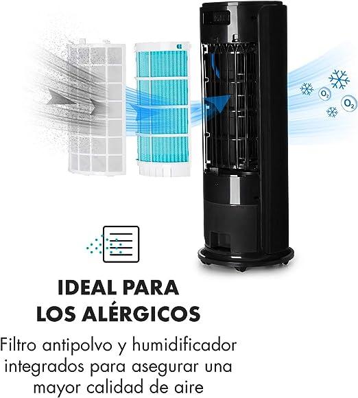 KLARSTEIN Skyscraper Horizon Ice - Climatizador evaporativo ...