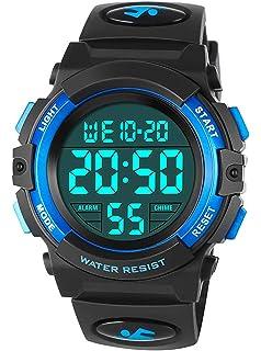 Los niños de los relojes digitales,niños deportes reloj con ...
