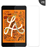 Miitech iPad mini 2019 mini 5 ガラスフィルム 【2枚セット】 強化ガラス 耐指紋 表面硬度9H 2.5Dラウンド加工 飛散防 高透過率 光沢表面 iPad mini 5 2019 液晶保護フィルム