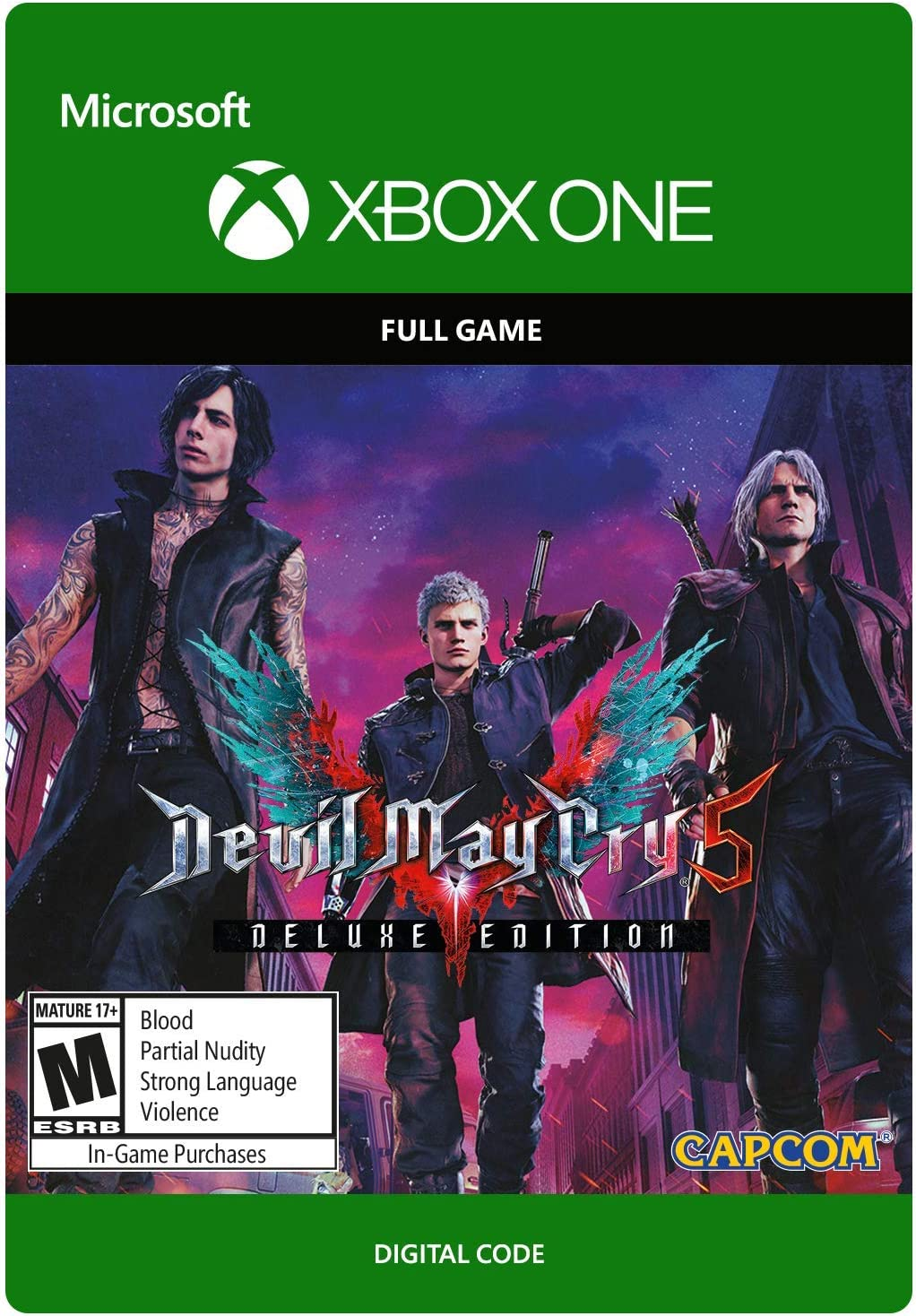 Amazon com: Devil May Cry 5: Digital Deluxe Edition - Xbox One