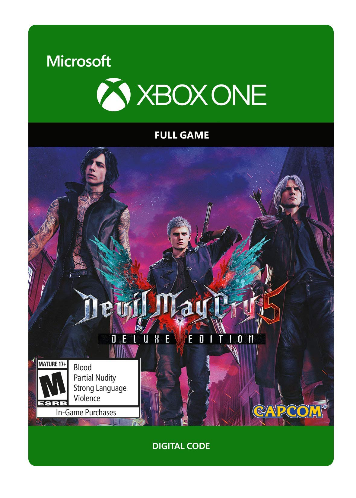 Devil May Cry 5: Digital Deluxe Edition - Xbox One [Digital Code]