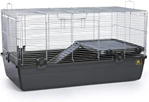 Prevue Pet Products 528 Universal Small Animal Home, Dark Gray (1 CAGE)