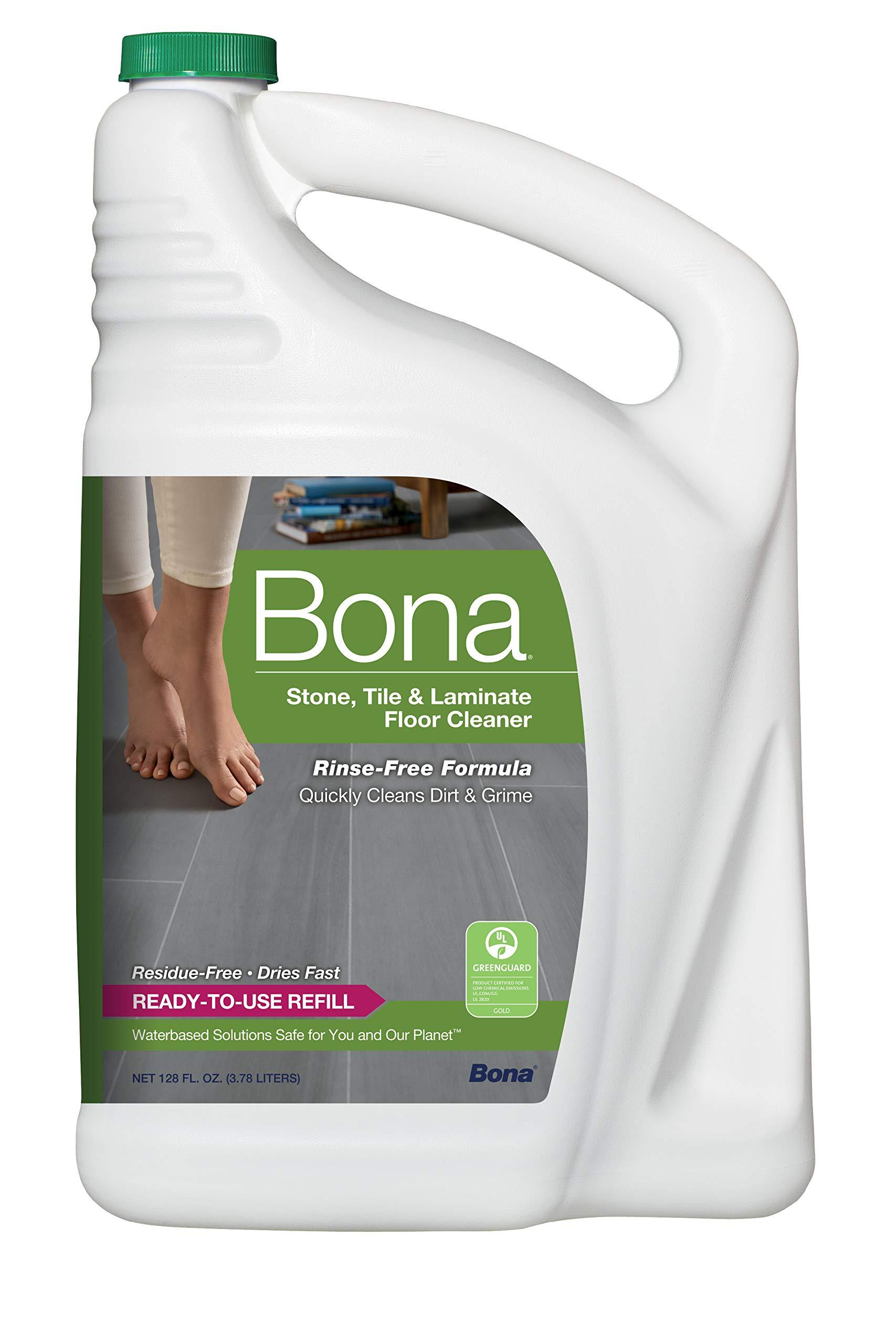 Bona Stone, Tile & Laminate Floor Cleaner Refill, 128 oz by Bona