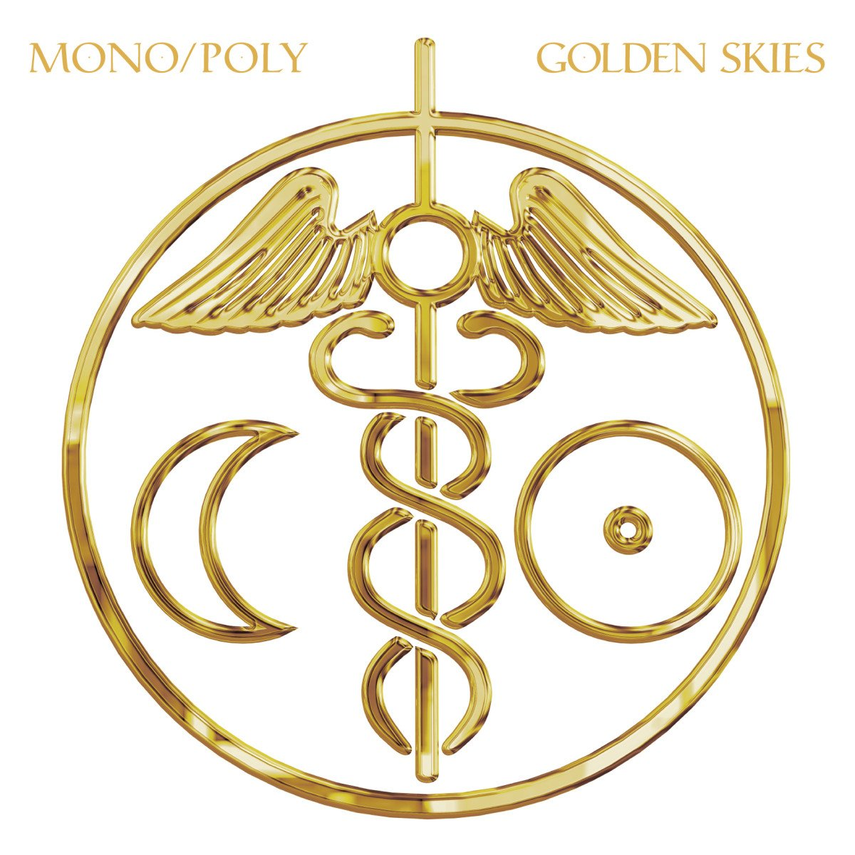 CD : Mono/Poly - Golden Skies (Digipack Packaging)