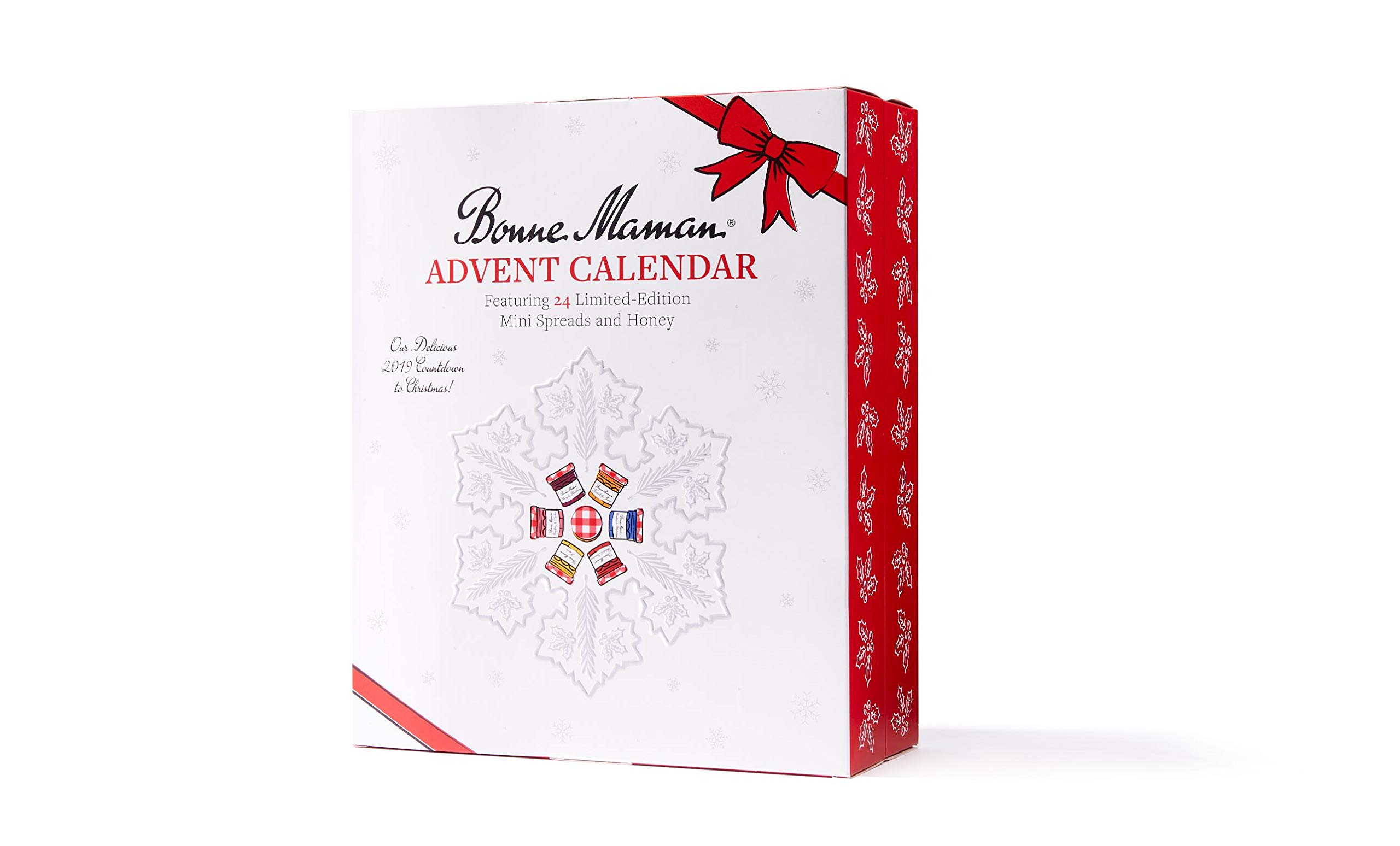 Bonne Maman 2019 LIMITED EDITION Advent Calendar, with 24 jars by Bonne Maman