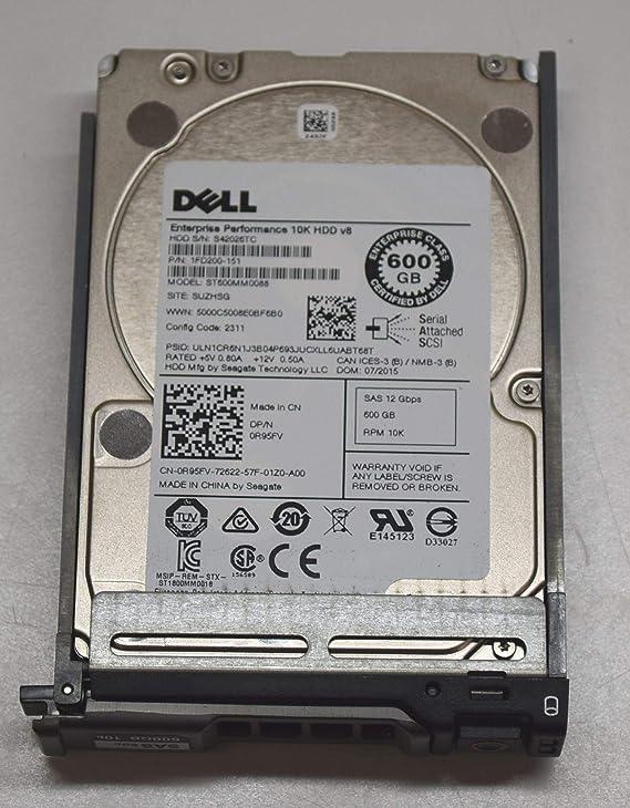 900 GB 10K RPM Renewed Dell 9WH066-150 2.5-inch SAS SFF Hard Drive