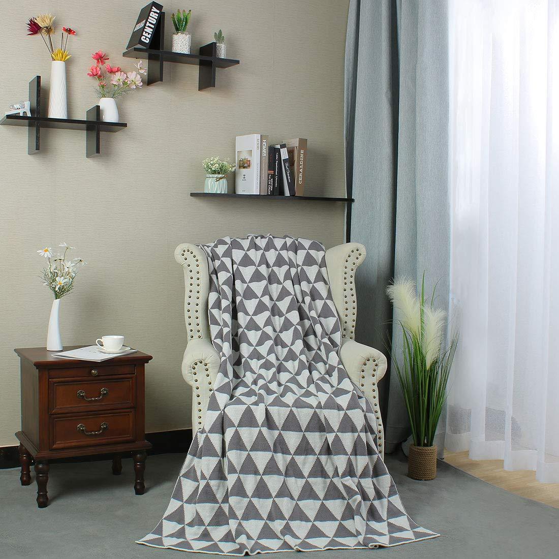 Amazon.com: uxcell - Manta de algodón para dormir de lujo ...