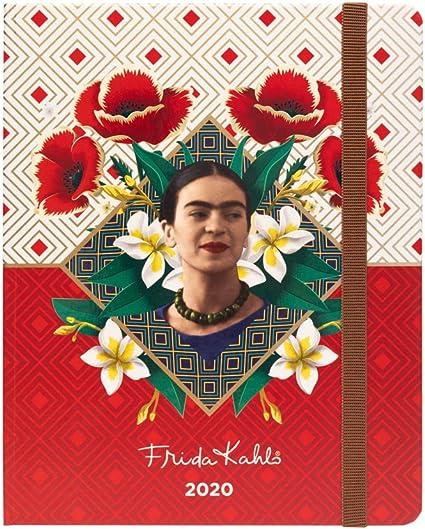 Grupo Erik Frida Kahlo- Agenda 16 Meses 2018/2019 Semana Vista: Amazon.es: Oficina y papelería