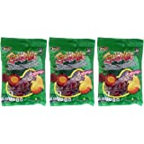 Jovy Enchilokas Candy. Mango Flavored Tamarind Covered Gummies With Chili. (Pack of 3)
