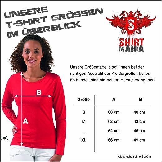 EVOLUTION Tauchen Sport FUN KULT SHIRT Damen Langarm Longsleeve T-Shirt S-XL