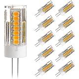 G4 LED Lampe- Ascher 10er pack G4 4W LED Lampe 45 SMD Leds - [300LM, Ersetzt 30W Halogen, WarmWeiß, AC/DC 12V,LED Leuchtmittel, 360° Abstrahlwinkel]