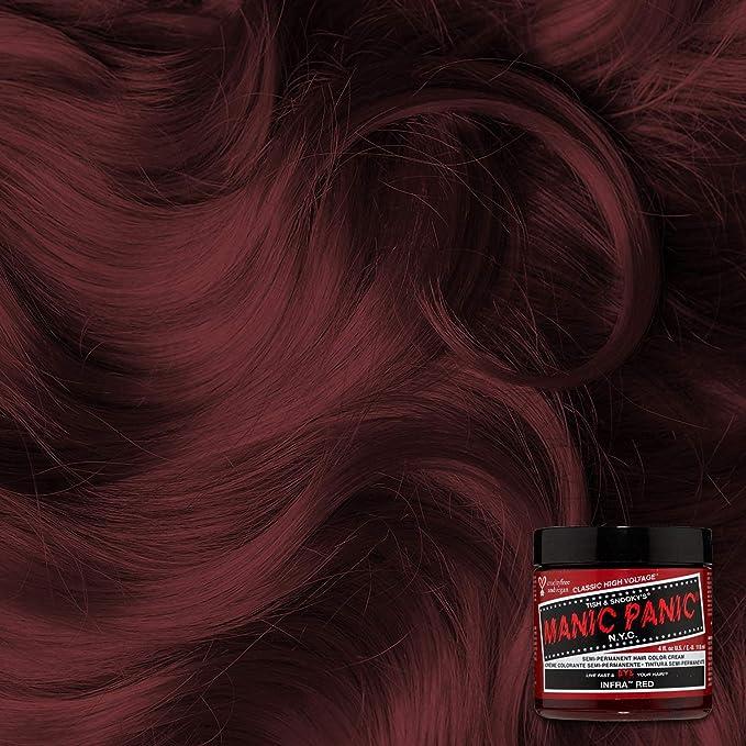 Manic Panic - Infra Red Classic Creme Vegan Cruelty Free Semi-Permanent Hair Colour 118ml