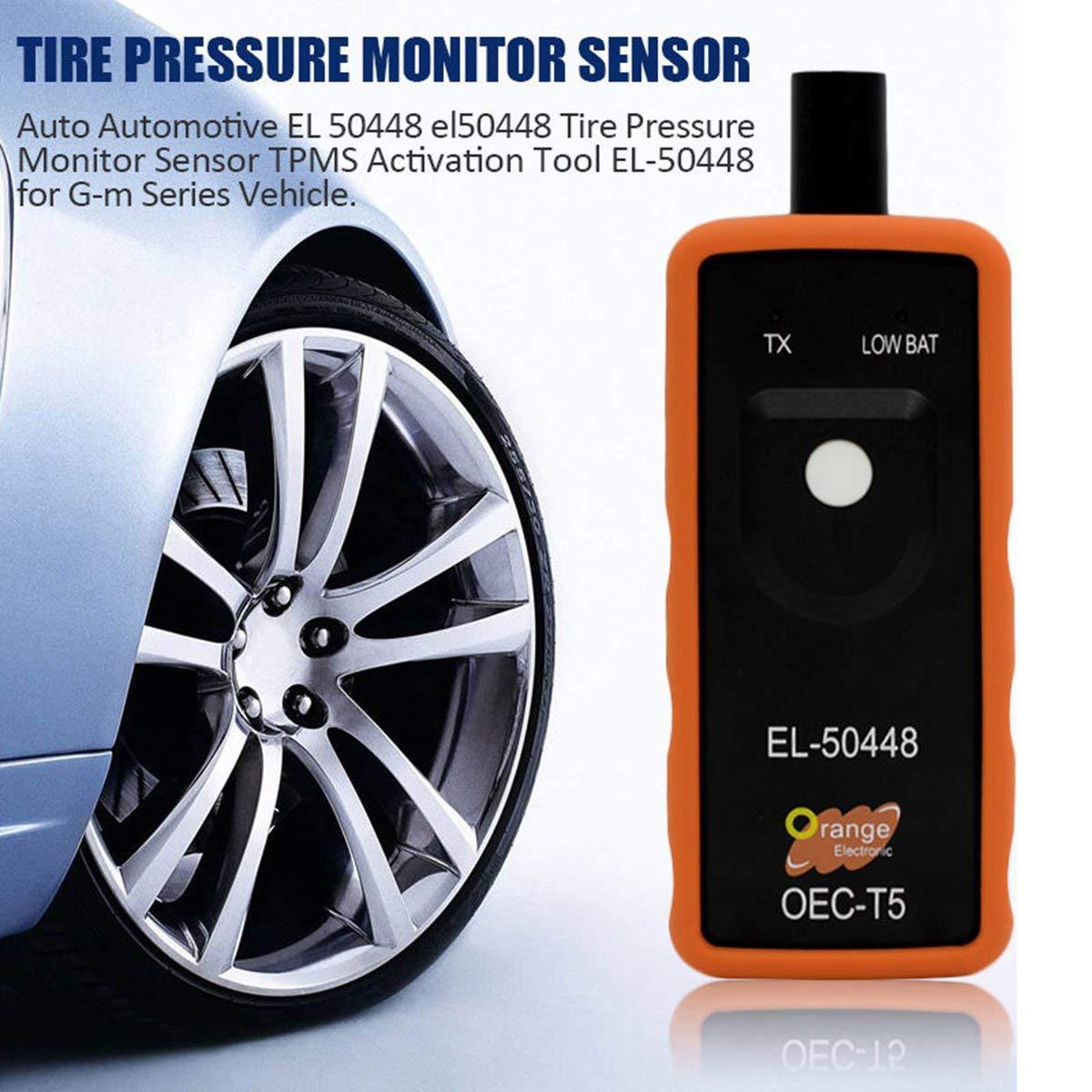 Gugutogo El-50448 Car Auto Tire Pressure Monitor Sensor OEC-T5 For GM//Opel TPMS Activation Reset Tool Diagnostic Tools Car Repairing