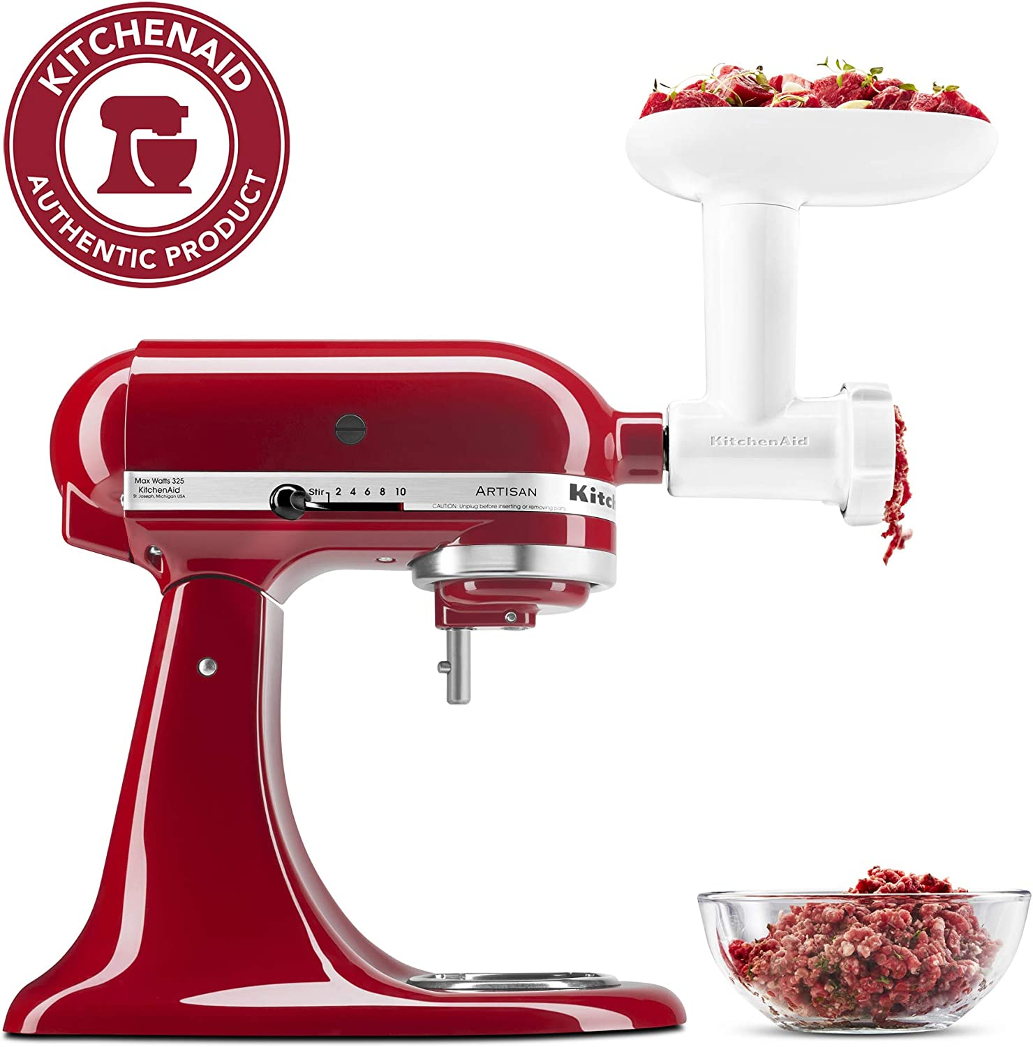 Kitchenaid Food Grinder Attachment KITCH KSMFGA, Plastic, Blanco: Amazon.es: Hogar