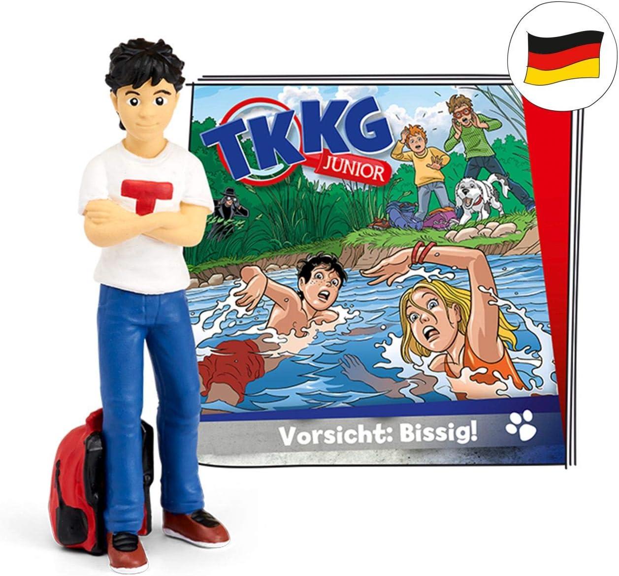 tonies 01-0182 TKKG Junior Caution: Bissig Colourful Hearing Figure Episode 2