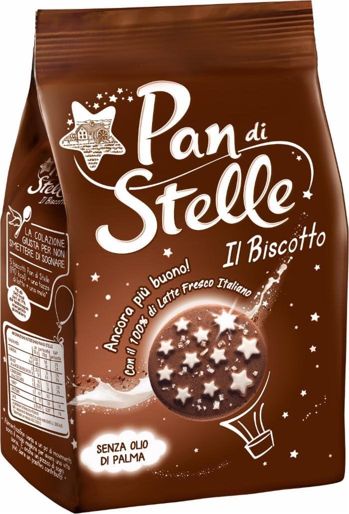 Pan di stelle biscotti frollini con cacao e cioccolato, per una colazione ricca di gusto - 350 gr B001RGY5FW