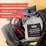 Activated Charcoal Bamboo Deodorizer, 4 Pack Odor