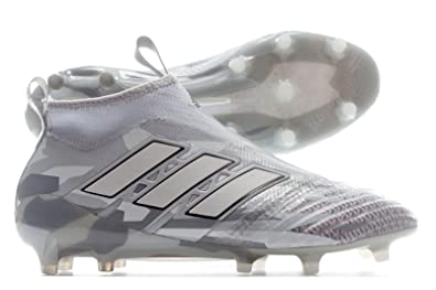 2aea6ffc250 adidas Ace 17+ Pure Control FG Football Boots - Clear Grey White Core