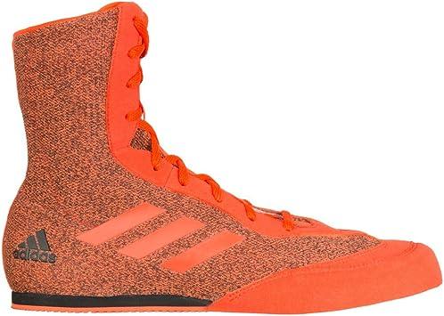 : adidas Box Hog 3 Plus Zapatos de boxeo, Rojo