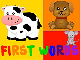 First Words - Baby First Words Video Books -
