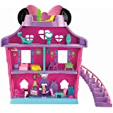 FISHER PRICE DISNEY MINNIE MOUSE MAGICAL BOW SWEET HOME DOLLS HOUSE FIGURES TOY GIRLS KIDS CHILDRENS PLAY SET