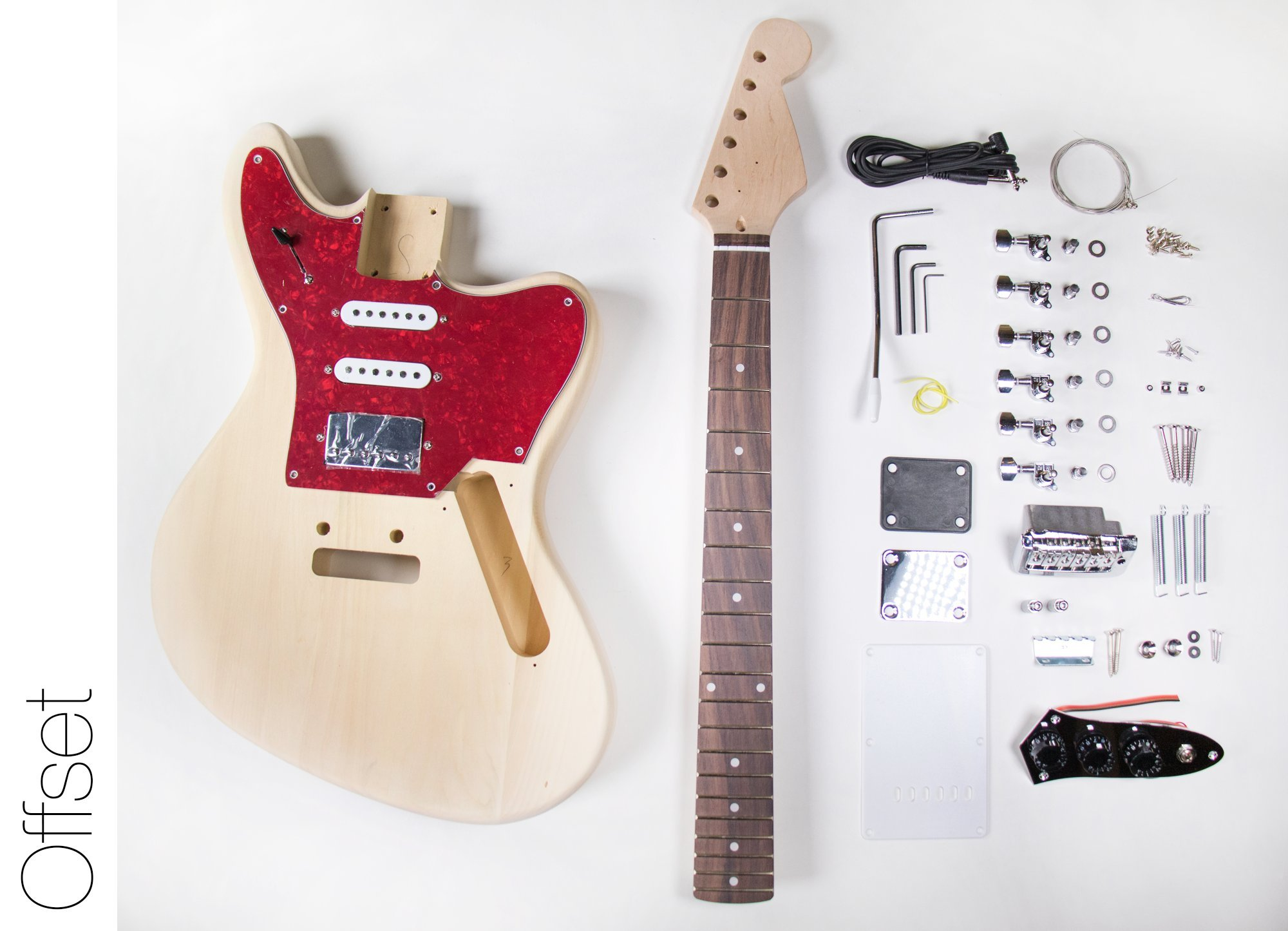 diy electric guitar kit jaguar style build your own guitar kit guitar yurt. Black Bedroom Furniture Sets. Home Design Ideas