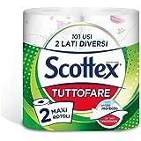 Scottex Tuttofare Due Lati Diversi, 2 Maxi Rotoli