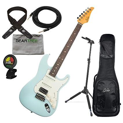 Suhr Classic S Sonic Blue Indian Rosewood FB HSS guitarra ...