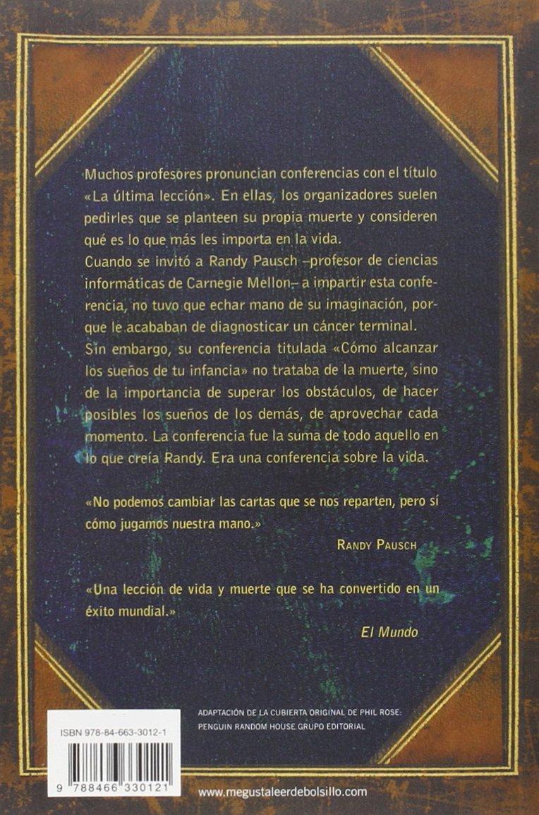Ultima Leccion Laclave Randy Pausch 9788466330121