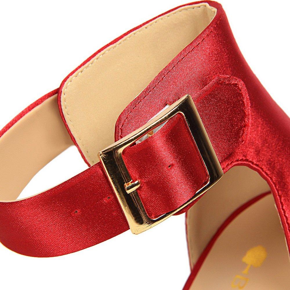 Europäischen und amerikanischen amerikanischen amerikanischen Stil sexy dünne Schuhe mit super hohen mit Wildleder flachen Mund wies Strass Wort einzelne Schuhe einfache hochhackigen Sexy Nachtclub war dünne Schuhe Xiaoqi 6224b2