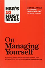 "HBR's 10 Must Reads on Managing Yourself (with bonus article ""How Will You Measure Your Life?"" by Clayton M. Christensen) Paperback"