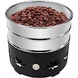 JIAWANSHUN 1.1lb Coffee Bean Cooler Electric Coffee Beans Cooling Machine No Chaff for Home Coffee Use (110V, black)