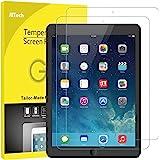 JETech Pellicola Protettiva per il nuovo iPad (9,7 Pollici, 2018 / 2017 Modello), iPad Air 1, iPad Air 2, iPad Pro 9,7 Pollici, in Verto Temperato, Pacco da 2
