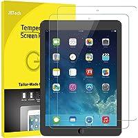 JETech Pellicola Protettiva iPad (9.7 Pollici, Modello 2018/2017), iPad Air 1, iPad Air 2, iPad Pro 9.7 Pollici, Vetro Temperato, Pacco da 2