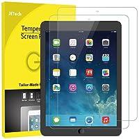 JETech Pellicola Protettiva per il nuovo iPad 9,7 Pollici (Modello 2018/2017), iPad Air 1, iPad Air 2 e iPad Pro 9,7 Pollici, Vetro Temperato, Pacco da 2