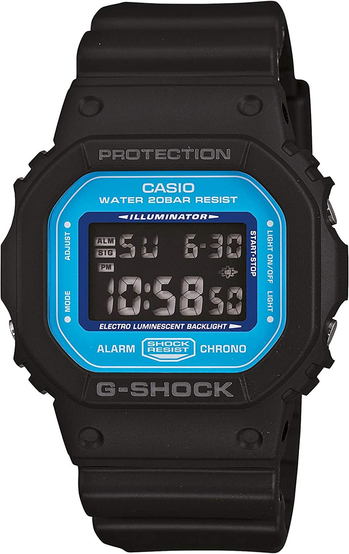 Easy-to-use Max 81% OFF Casio Men's Dw5600sn-1dr G-shock Classic Watch Blu Digital Black