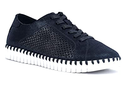 862aa0dad9889 Gc Shoes Women's Amber Round Toe Flexible White Bottom Slip On Sneaker (6 B(