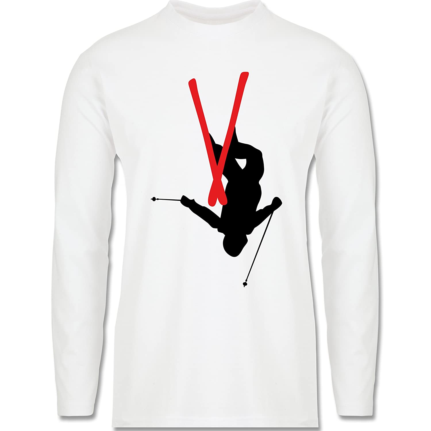Wintersport - Freestyle Skiing - Freestyle Ski Tricks - Longsleeve / langärmeliges T-Shirt für Herren