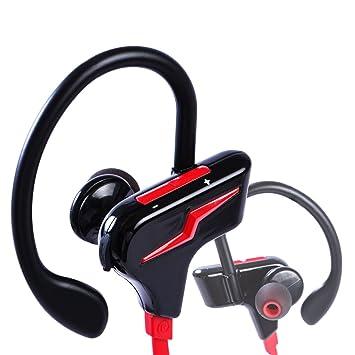 Veoker Auriculares Deporte Bluetooth Inalámbricos sin cable, Wirezoll Auriculares Manos libres Para correo (Silicona