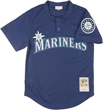 Ken Griffey Jr. Blue Seattle Mariners